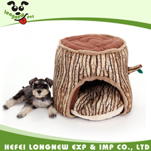 Innovative Pet Tree Trunk Shape House Soft House for Small Dog Cat House