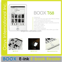 android system e-book reader 6.8 inch eink screen reader
