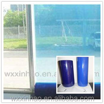 No residue easy peel pe window protective film made in China