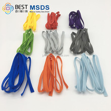 colorful flat 3..0-7.0mm elastic mask cord for face mask