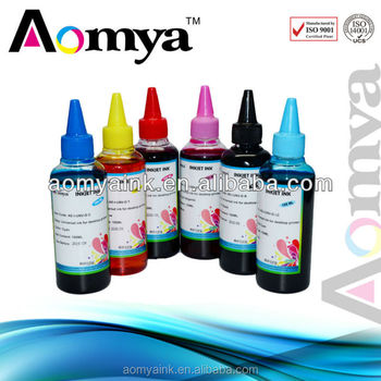 Bulk tie dye ink for Epson Stylus Photo 830/925/935 from direct factory in zhuhai