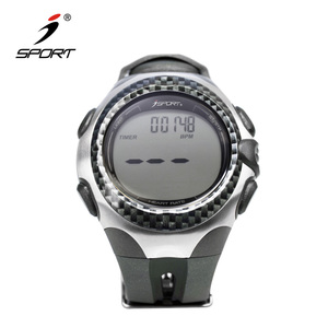 Smart Heart Rate Monitor Watch - Sports Fitness Watch with Silicone Band and Adjustable Strap - Built-In Pulse Sensor