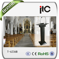 ITC T-6236 Professional public address speech podium cheap church lectern