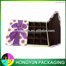 Chocolate Packaging Boxes Printed Paper Gift Box For Sweet Food