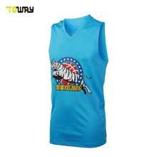 woman custom team basketball jersey color blue