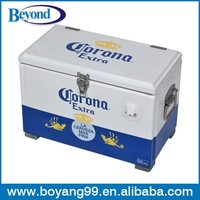 metal corona cooler ice chest