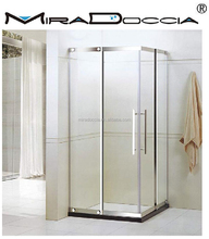 Quadrant Shower Enclosure Walk In Corner Glass Cubicle Acrylic Stone Resin Tray