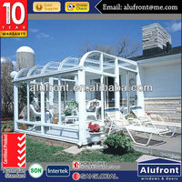 Elegant Design / LOW-E glass Aluminum Sun Room