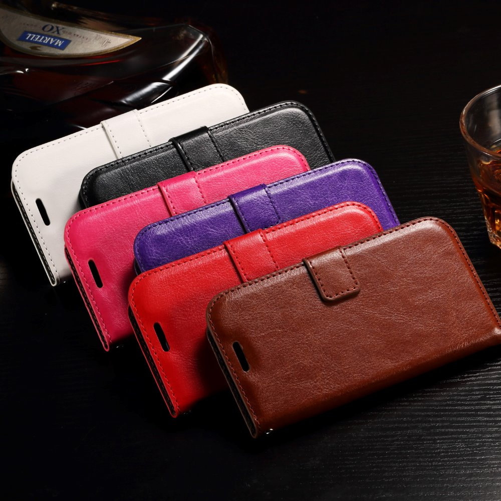 Leather case For Huawei Y3II 4.5'', Soft TPU + PU leather protective custom cell phone case cover