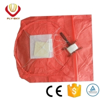 Wholesale e high quality eco flying sky lantern with the kite line for wedding decoration