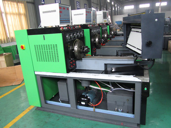Convetional 12 cylinders injection pump test bench with 7.5KW 11KW 15KW 18.5KW 22KW optional