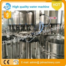 3-in-1 unit PET with 8000bph automatic mineral water bottling equipment by manufacturer