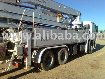 32mts Concrete pump Klein Mercedes 3332