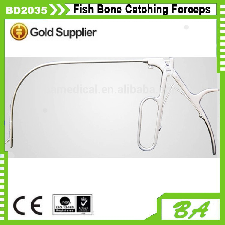 Laryngeal Catching Forceps/Fish Bone Catching Forceps