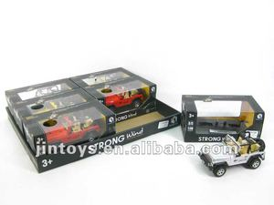 Die Cast Free Wheel Jeep with Light & Music,Scale: 1:30,with ASTM & Phthalate Free Test -- BG8984