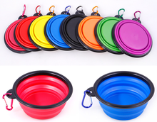 Bonzerpet Collapsible Portable Silicone Dog Bowl