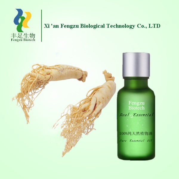 Hot sale 100% pure natural ginseng oil / first grade oil for medicine / high quality ginseng oil