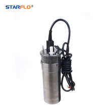 STARFLO 12LPM deep well solar water pump set solar submersible water pump for irrigation