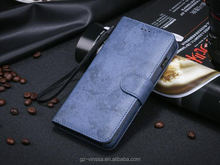 Magic magnetic genuine leather phone case for 4.7 inches