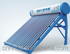 2016 Best quality vacuum tube type solar heater for wather(Manufacturer)