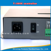 T-300K RGB LED Pixel Controller PC online control with SD card