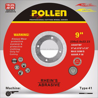 "9""230x2.0x22.23and stainless steel or stone/ Flat and depressed metal cutting discs,abrasive cut off wheel"