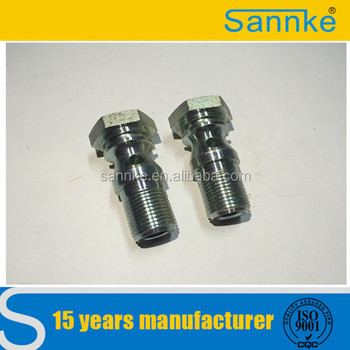 Non standard part in zinc plated by Sannke