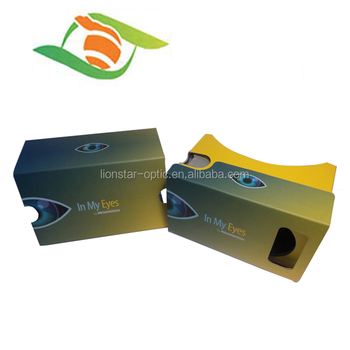 March Promotional 10% Off , Colorful Google Cardboard VR 2 Glasses virtual reality 3D Glasses for Xnxx video