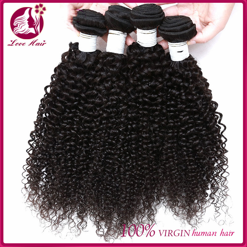Best Price Big Stock Wholesale chinese afro kinky curl/deep curly hair sew in hair weave