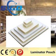 Clear Color Heat Seal Laminating Film Glossy Laminating Pouches
