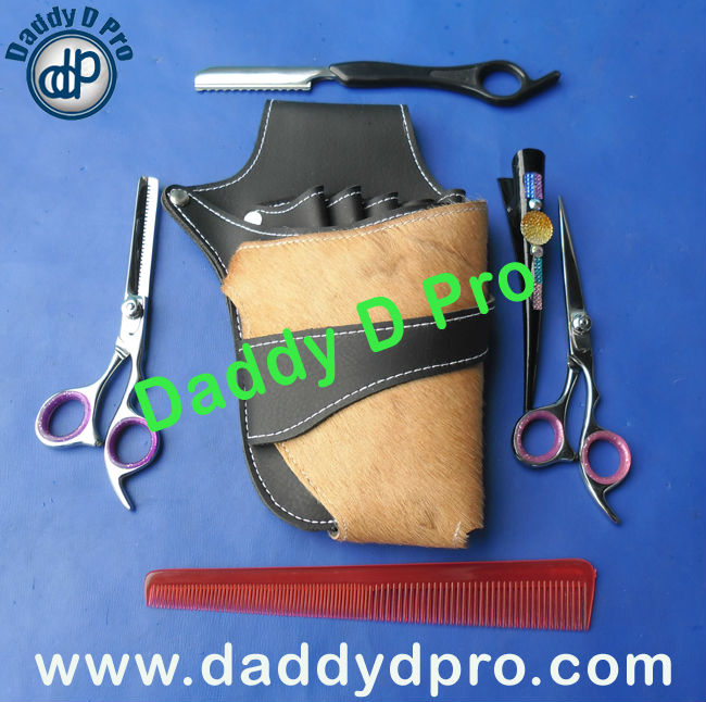 Professional Barber Instruments With Leather Kit, DDP-0011