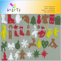 hot felt christmas figures and multiple pictorial