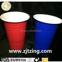 Amercian 16oz Plastic Red Party Cups (Beer Pong) - Disposable 50/100/1000 with FDA