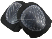 Plastic cap foam gel padding knee protector