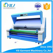 multi function tension control automatic edge textile fabric inspection and measuring machine