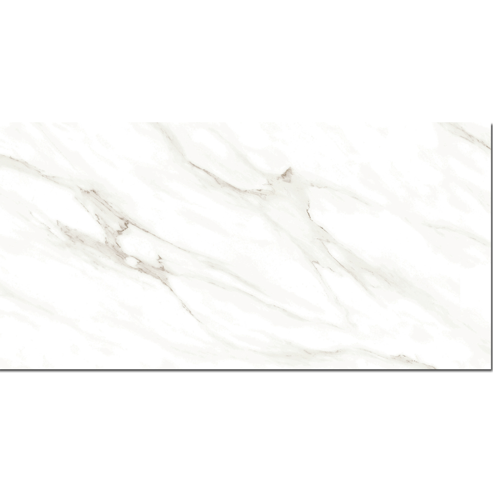 Foshan marble look ultra thin polished glazed porcelain floor tiles