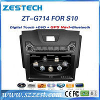 ZESTECH In dashboard 2 din car stereo for Chevrolet S10/Isuzu D-max car dvd player Exporter