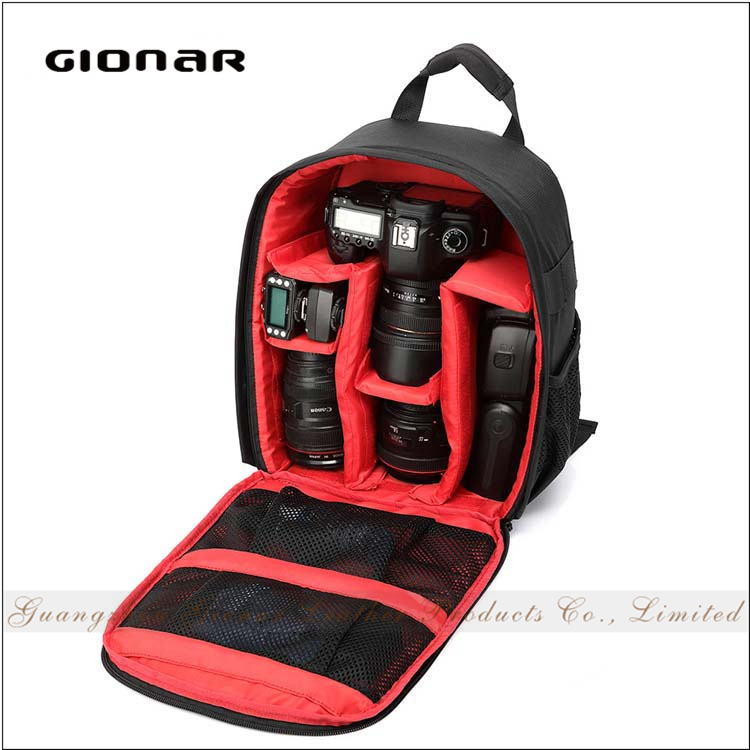 Hot Selling Water Proof Hiking Travelling Wholesale Pink Dslr Camera Bag