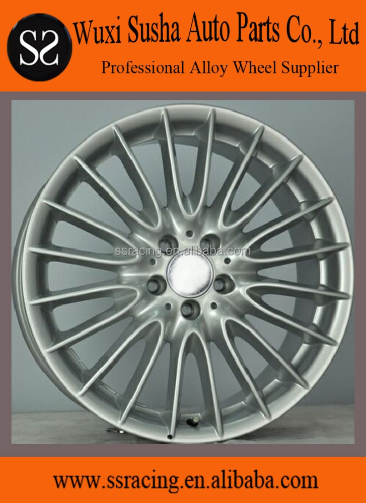 "17"" 18"" 19"" and 20"" hyper silver replica aluminum alloy <strong>wheels</strong> for S600L"
