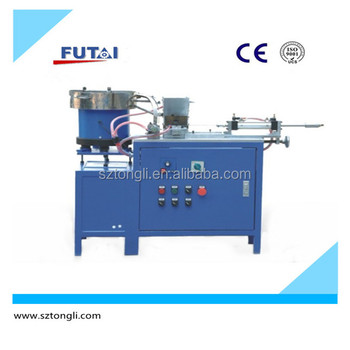 TL-129 Automatic plug and terminal pin assembling machine for heating element tube