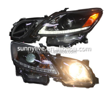 for LexusGS300 GS350 GS430 GS450 LED Head Lamps with Projector Lens 2006-2011 SN