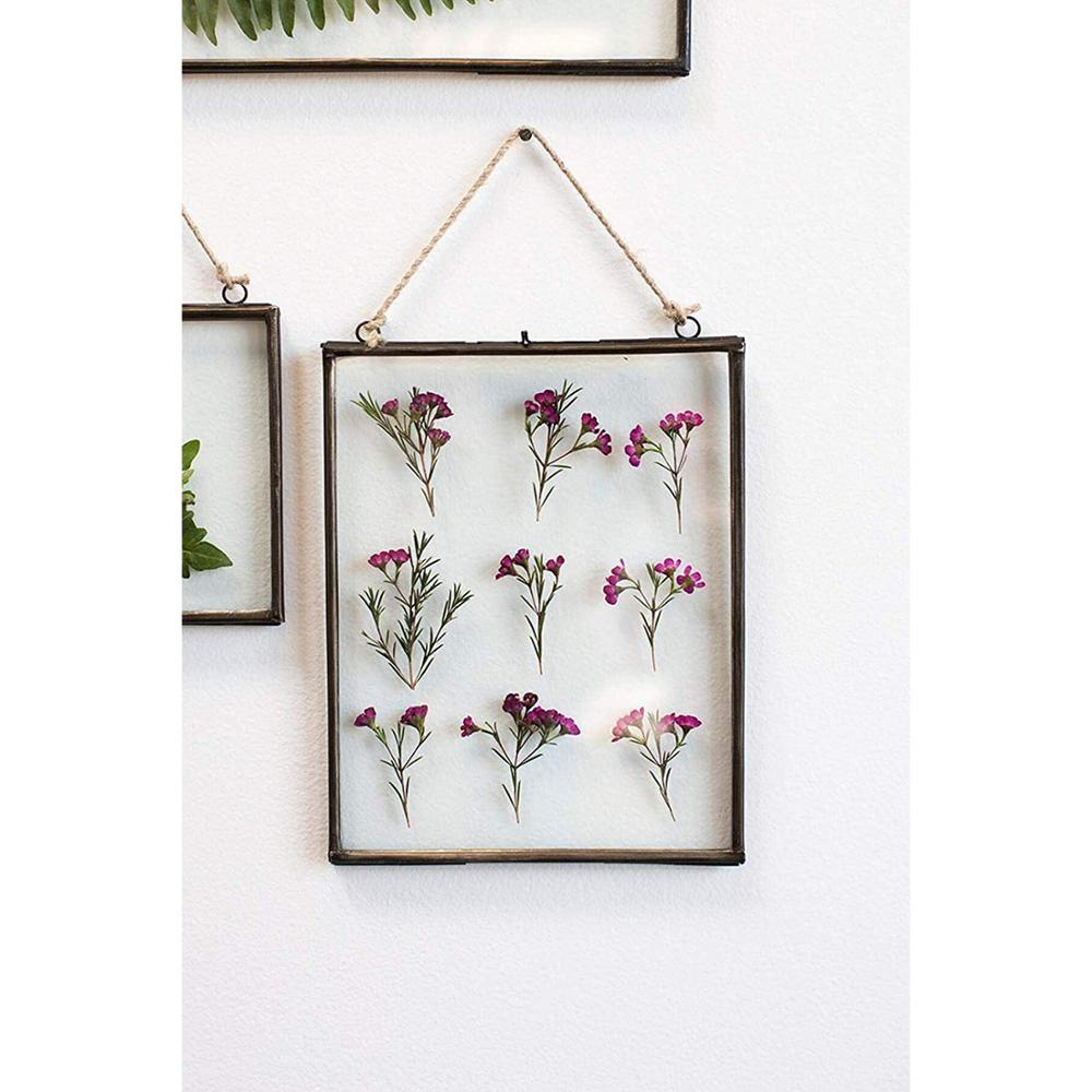 Wholesale Wall Art Decor Photo Metal Hanging Glass Picture Frame for Home and Office