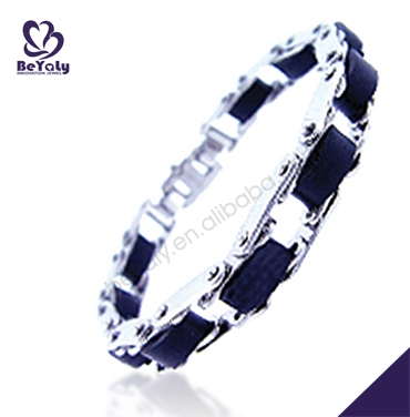China wholesale costume jewelry stainless steel tracking device bracelet