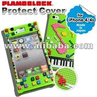 smart phone cover with PLAMO BLOCK from JAPAN