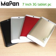 Cheap wholesale 7 inch 3G Google Android RAM 512MB+8GB FLASH Tablet PC quad core 3.7V/3500mA laptop computer