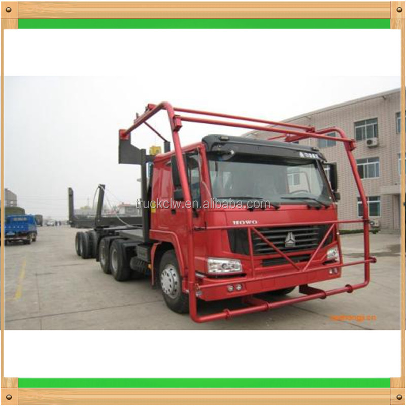 High quality SINOTRUK HOWO 6x4 Log Carrier truck log loading vehicle