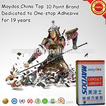 Liquid sponge rubber fast bonding spray adhesive