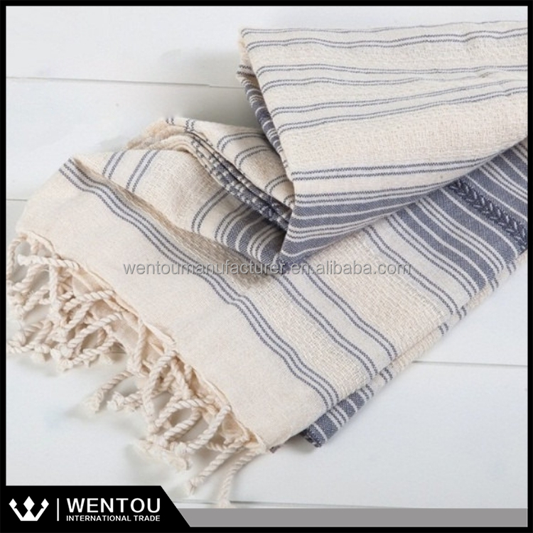 Authentic Gym Bath Spa Yoga Beach Peshtemal 100% Cotton Turkish Towel Fouta
