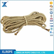 Hemp Packing Twine unoiled 24mm twisted natural sisal ropes