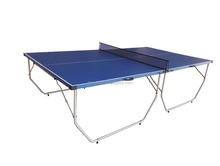 2017 New design portable folding table tennis table MDF indoor sport ping pong table